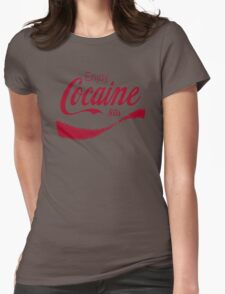 Cocaine 80's Womens Fitted T-Shirt