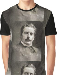 Puccini, Composer Graphic T-Shirt