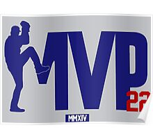 """Clayton Kershaw """"MVP"""" Poster"""
