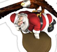 Santa Claus Will Have Some Delay Sticker