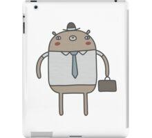 Working Bear iPad Case/Skin