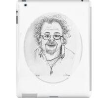 fast sketch self portrait iPad Case/Skin
