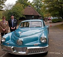 Tucker Torpedo 1948 arrives at Chartwell by Keith Larby