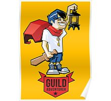Boy Adventurer Poster