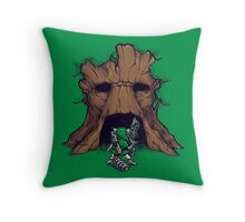 The Groot Deku Tree Throw Pillow