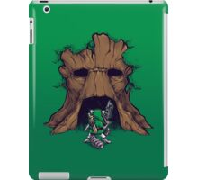 The Groot Deku Tree iPad Case/Skin