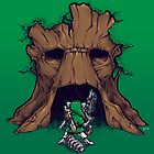 The Groot Deku Tree by Nathan Davis