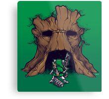 The Groot Deku Tree Metal Print