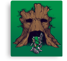 The Groot Deku Tree Canvas Print