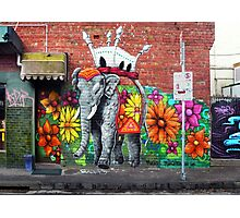 Collingwood Graffiti Photographic Print