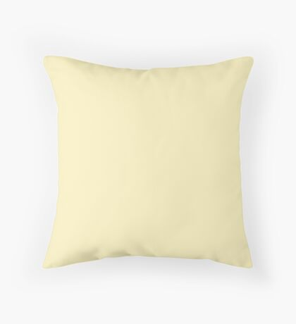 Blond Throw Pillow