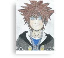 Sora Kingdom Hearts Canvas Print