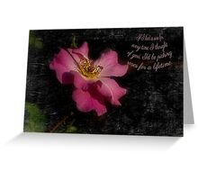 Thinking Roses Greeting Card