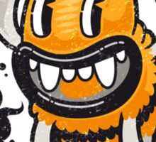Cartoon Monster I'll Bee Bat Sticker