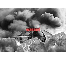 Wasted GTA Photographic Print