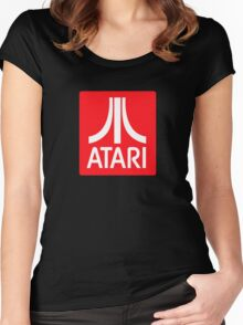 Atari! Women's Fitted Scoop T-Shirt