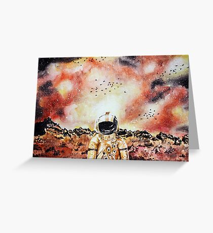 Deja Entendu Brand New Watercolor Art Greeting Card