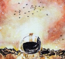 Deja Entendu Brand New Watercolor Art Sticker