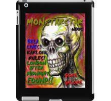 NEWS MONSTERSTAR iPad Case/Skin