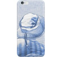 people on the beach iPhone Case/Skin