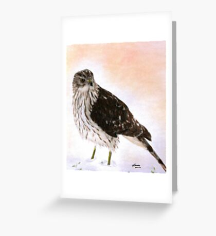 Looking For Breakfast Greeting Card