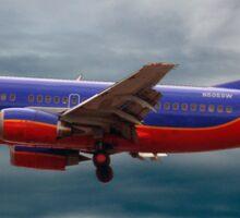Southwest Airlines Boeing 737 Sticker