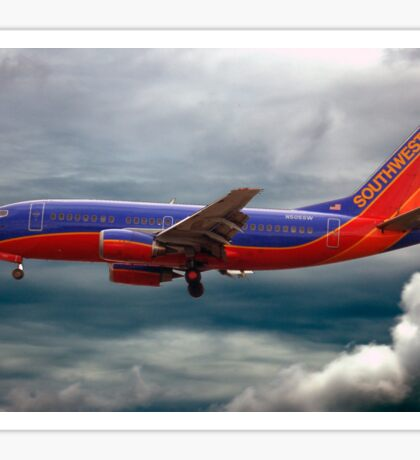 Southwest Airlines Boeing 737 Sticker