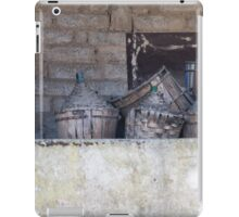 old wine barrel iPad Case/Skin