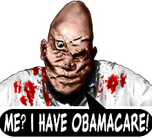 OBAMACARE MAN by DGSDIRECT