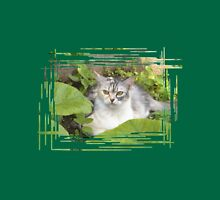 Cat in the garden Unisex T-Shirt
