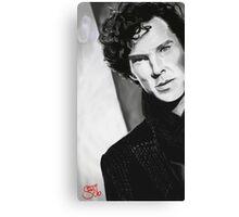 BBC Sherlock (monochrome) Canvas Print