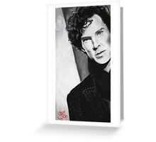 BBC Sherlock (monochrome) Greeting Card