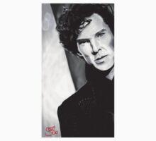 BBC Sherlock (monochrome) Kids Clothes