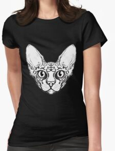 Sphinx Cat Womens Fitted T-Shirt