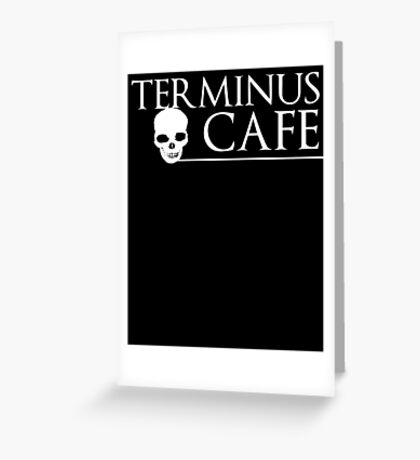 Terminus Cafe Greeting Card