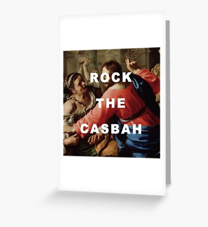 The Clash Cleansing the Temple Greeting Card