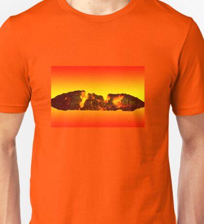 Charcoal fire Unisex T-Shirt