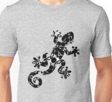 Series - Gekko Collection Pattern - B&W - 121816 Unisex T-Shirt