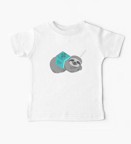 Sloth - Dreaming Big Baby Tee
