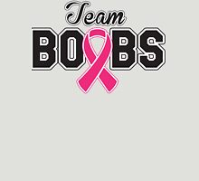 Team Boobs  Womens Fitted T-Shirt