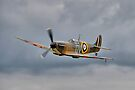 Guy Martin`s Spitfire 1 by Colin J Williams Photography