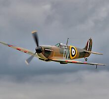 Guy Martin`s Spitfire 1 by Colin  Williams Photography