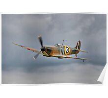 Guy Martin`s Spitfire 1 Poster