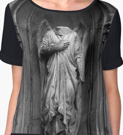 Decapitated Angel Chiffon Top