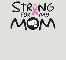 Strong for my mom - cancer shirt Womens Fitted T-Shirt