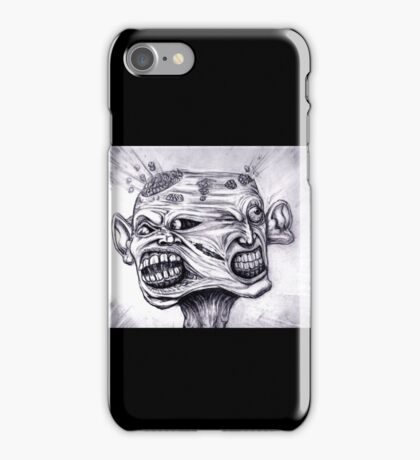 BW SPLIT iPhone Case/Skin