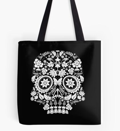 Day of the Dead Skull Tote Bag
