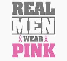 Real men wear pink Mens V-Neck T-Shirt