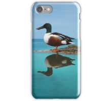 Duck on Water Reflection iPhone Case/Skin
