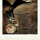 """ Automotive Graveyard "" ... Polaroid SX-70 ... #1 by Malcolm Heberle"